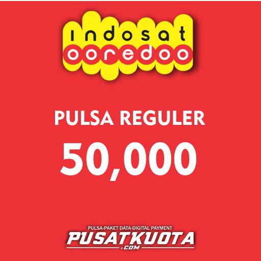 PULSA Indosat - Indosat 50.000