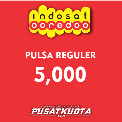 PULSA Indosat - Indosat 5.000 [Alternatif]