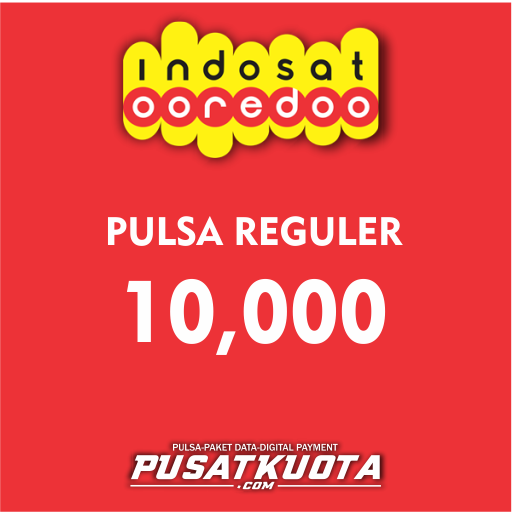 PULSA Indosat - Indosat 10.000 (PROMO)