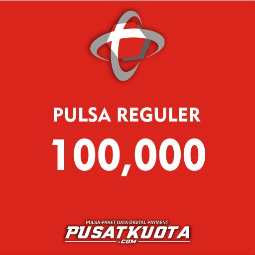 PULSA Telkomsel - Telkomsel 100.000 Alternatif