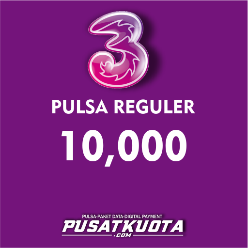PULSA Three - Three 10.000