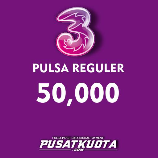 PULSA Three - Three 50.000