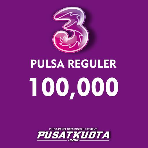 PULSA Three - Three 100.000