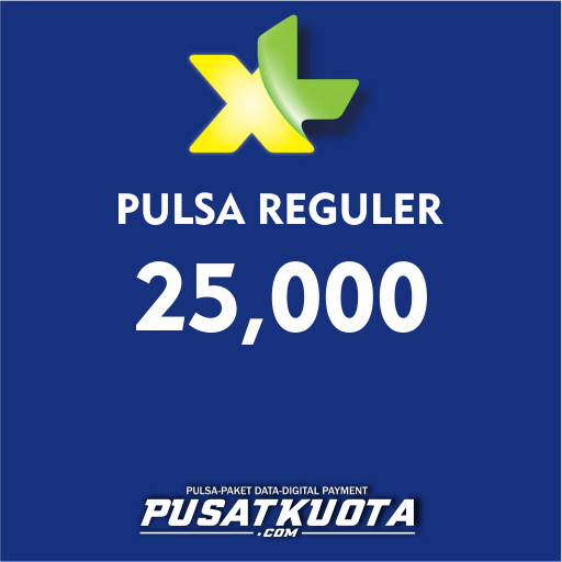 PULSA XL - XL 25.000 (PROMO)