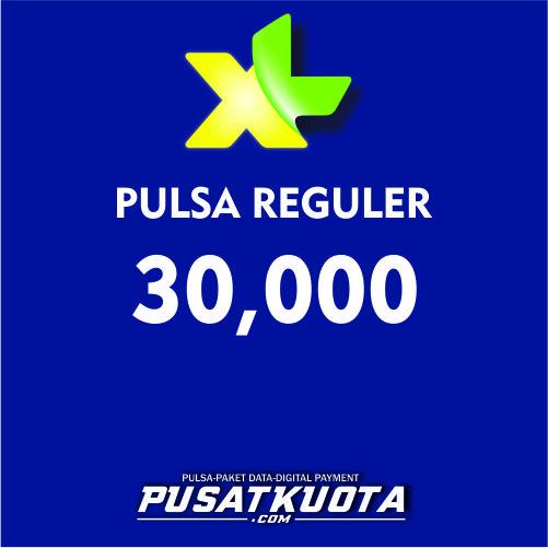 PULSA XL - XL 30.000 (PROMO)